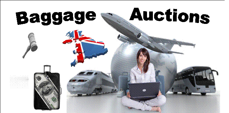 Airport Lost Property Auctions Uk