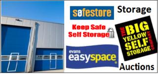 storage auctions uk